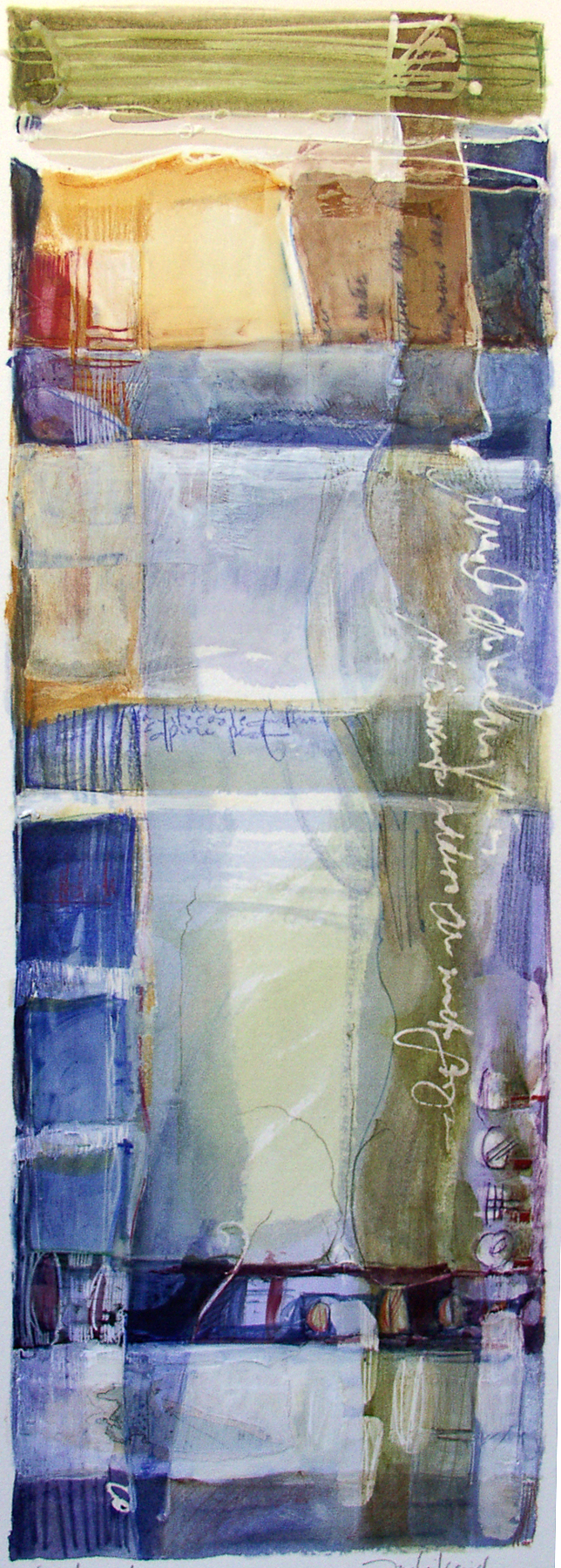 Fondamento, 7 x 20 inches, sold
