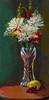 """Birthday Flowers"" - Oil - 12""x6"""
