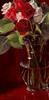 """Valentine Roses"" - 12""X6"" - Sold"