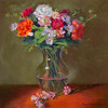 """""""Best Wishes"""" - Oil - 12""""X12"""" -Juried into the 2013 Salon International at Greenhouse Gallery in San Antonio, TX - Sold"""