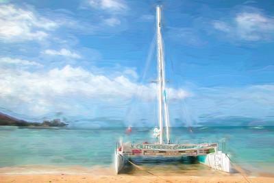 Catamaran Outrigger 836