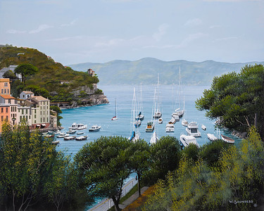 Coastline of Portofino