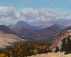 """""""Missoula Valley, Fall"""" - Oil - 8""""x10"""" - Juried into Zootown Arts Community Center 2018 Auction"""
