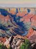 """""""Grand Canyon II"""" - Plein Air Oil - 12"""" x 9"""""""