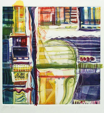 Barca Vela, 12 x 12 inches, sold