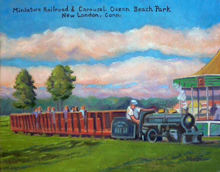 Minature Railroad & Carousel, Ocean Beach Park