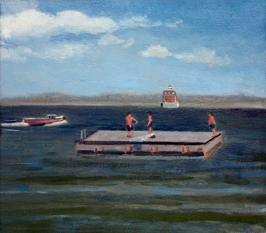 Guthrie Raft w/ Ledge Light
