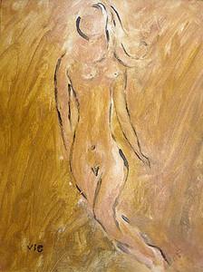 La déesse  8 X 10 panel