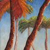 Firey Palms - #130
