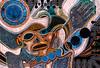 Convergence XXV: MOCHE<br /> Acrylic on Masonite<br /> 41 X 31<br /> <br /> NFS