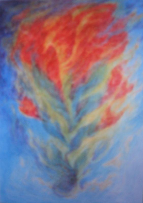 Architypal Plant VI (watercolor)