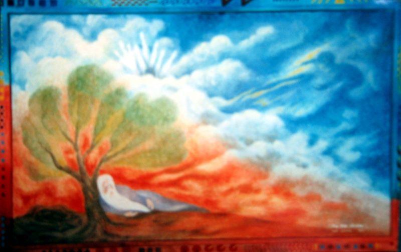 Rip van Winkle III (acrylic)