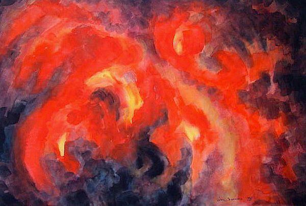 Lava (watercolor)