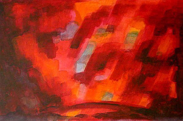 RedFountain (watercolor)