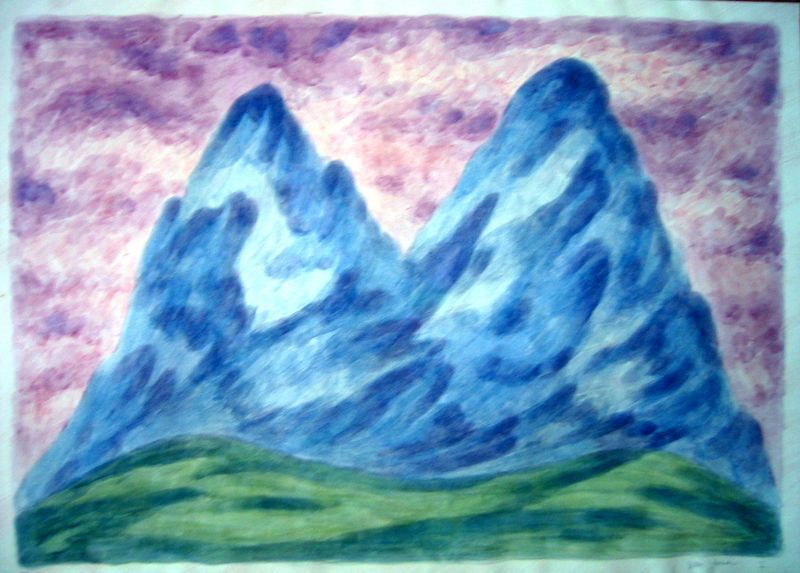 Mysterious Mountains--M (plantcolor)