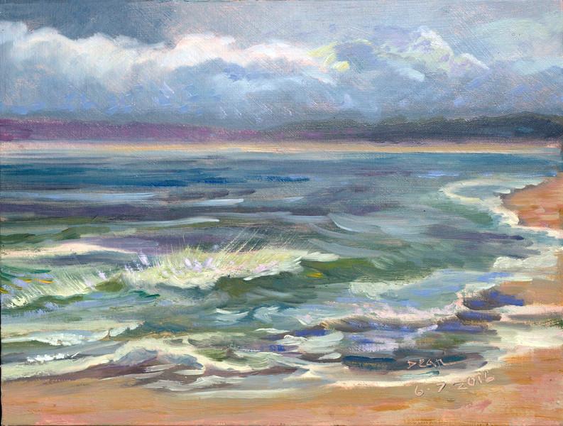 Wave Study at Biddeford Pool