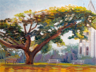 The Giving Tree at Marie Joseph Spiritual Center