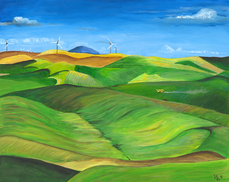 WINDMILLS ON THE PALOUSE