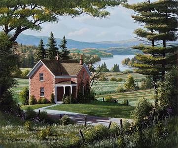 Farmhouse on the Hill
