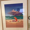 "Jim Buckels ""At the Beach"" original $2500 1988"