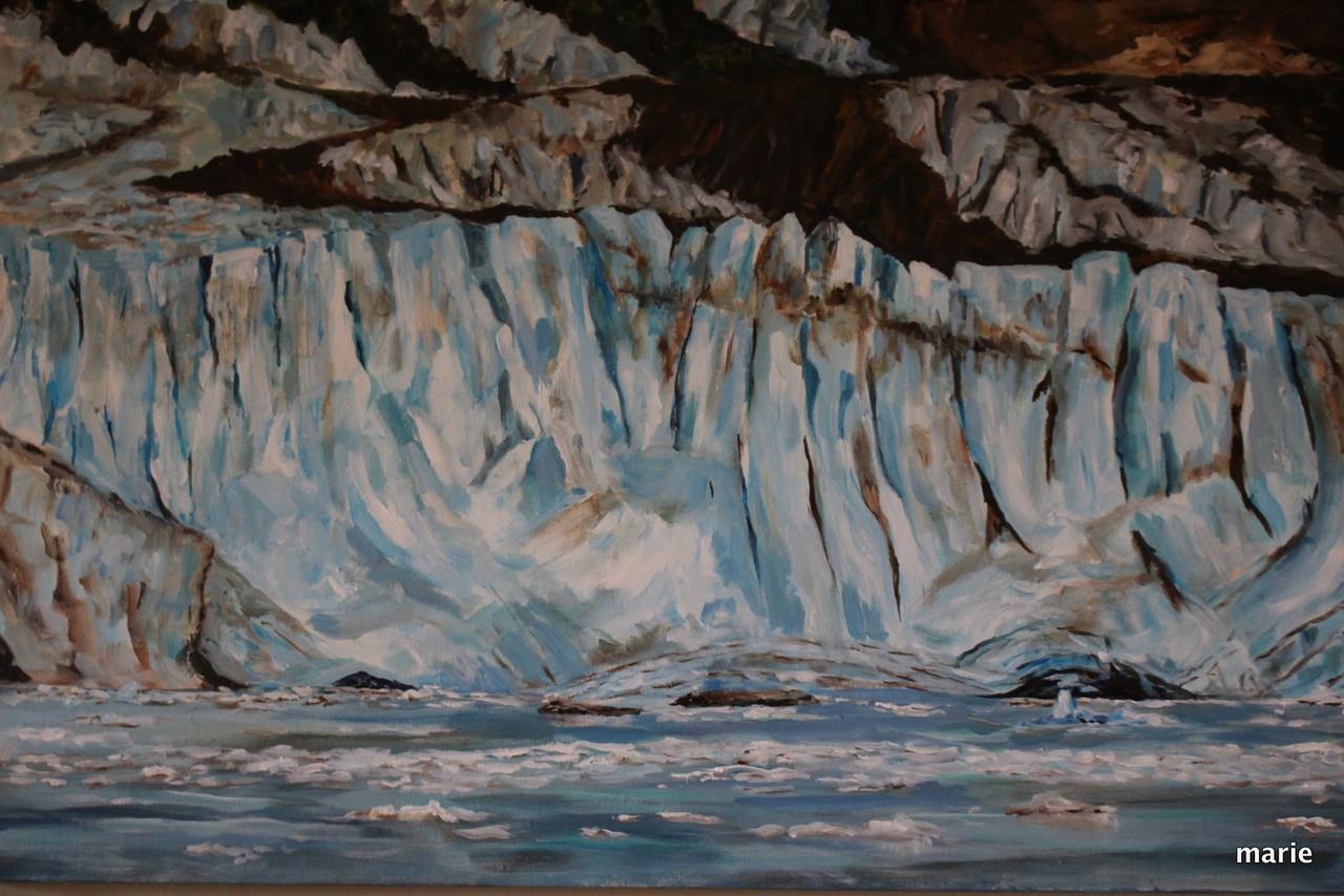 Glacier Bay 2016  by Marie Arsenault