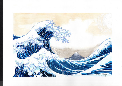 The Wave from Hokusai
