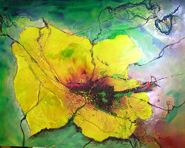 Abstracted Hibiscus