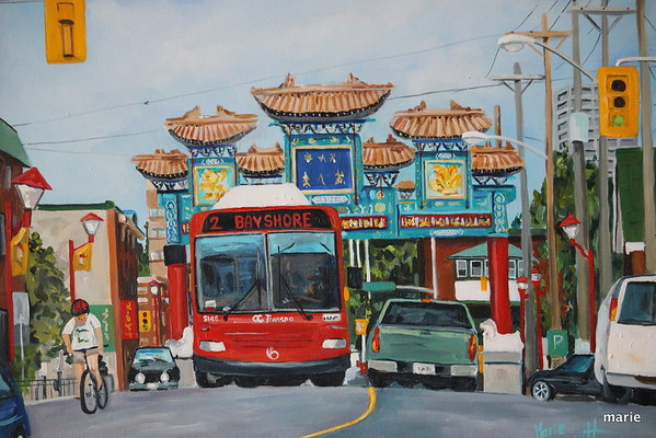 China Town Gates Ottawa  SOLD