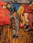 Yaquib & Yasin Asleep, Yohan Awake