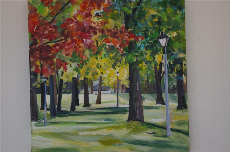 Fall in Britannia Park  SOLD