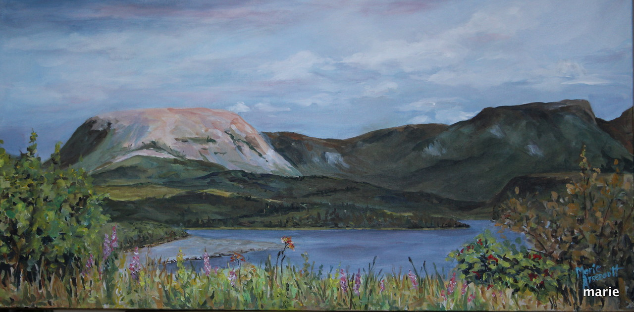 On the Road to Rocky Harbour SOLD