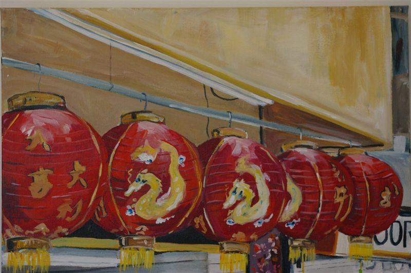 Lanterns in San Fran