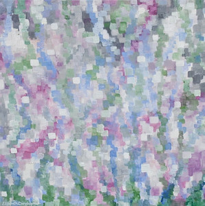 """Light"", 1 24"" x 24"" Oil on canvas painting by: Elizabeth Christopher © 2009"