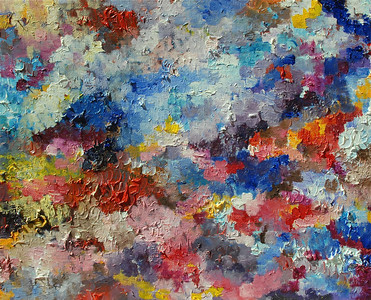 """Untitled"" 20"" x 16"" oil and acrylic on canvas painting by: Elizabeth Christopher © 2012"
