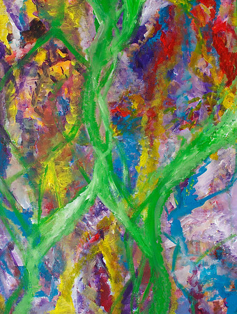 """Love Poem"" 24"" x 18"" x 1.5"" acrylic on canvas  painting by: Elizabeth Christopher ©2013"