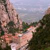 Vista Aérea da Abadia de Santa Maria de Montserrat