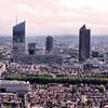 Vista Aérea da Cidade de Lyon