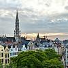 Vista Aérea de Bruxelas