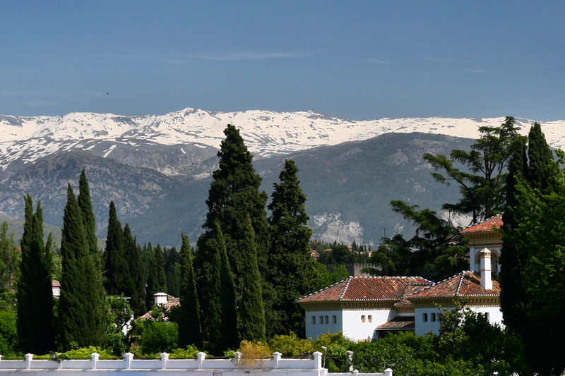Vista da Sierra Nevada