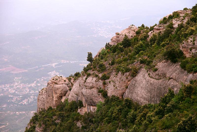 Arredores da Abadia de Santa Maria de Montserrat