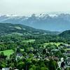 Vista das Redondezas de Salzburg
