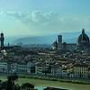 Vista do Centro Histórico de Florença