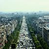 Vista Aérea da Avenida des Champs-Élysées