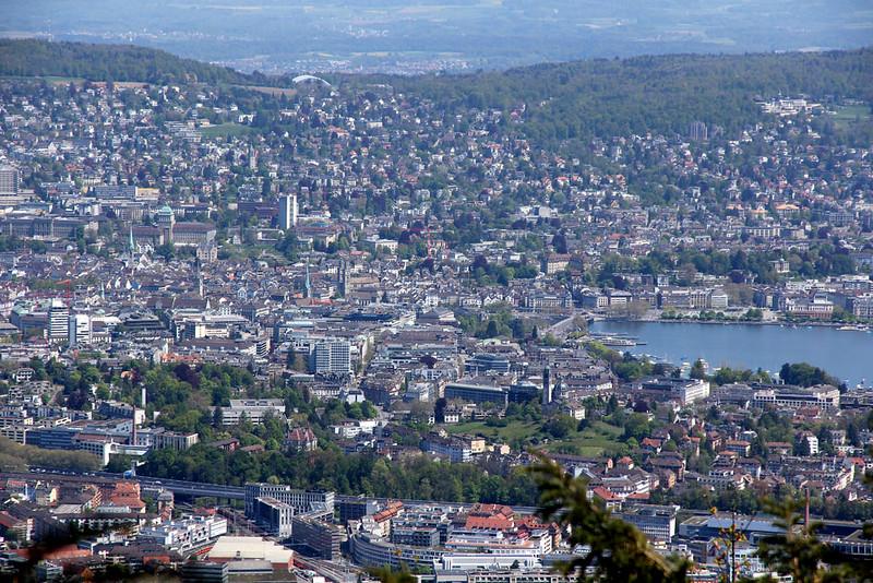Vista Aérea de Zurique