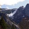 Montanha no Parque Yosemite
