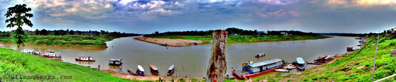 Boca do rio Acre, encontro com o rio Purus, 2010