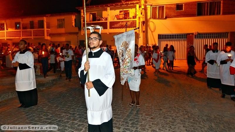 Procissão da Padroeira Nossa Senhora da Purificação e Chegada dos Mouros e Cristãos.