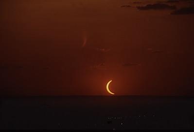 Eclipse em Brasília DF  copyright (c)  Juliano Serra