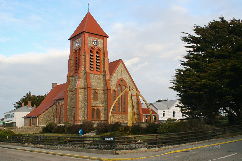 Church at Port Stanley, Falkland Islands / Islas Malvinas