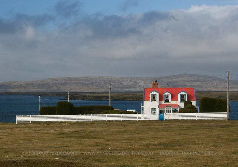 Darwin settlement, Falkland Islands / Islas Malvinas